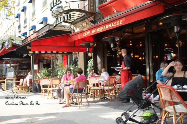 Busy Street Sidewalk sidewalk cafe  street