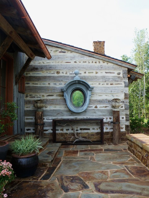 River Wilderness rustic-entry