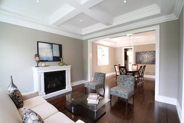 Living/Dining contemporary-living-room