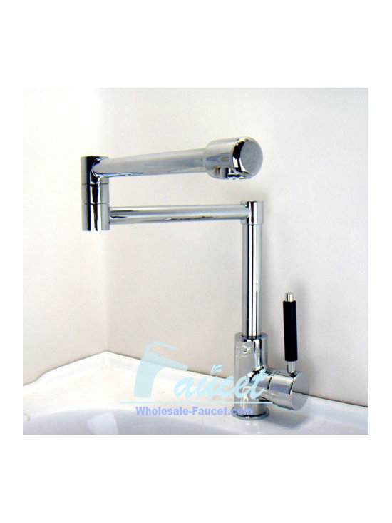 Single Handle Deck Mounted Pot Filler Fauct - Features: