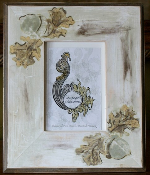 Acorns Picture Frame traditional-picture-frames
