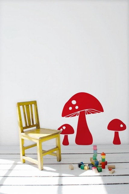 Ferm Living Mushroom WallSticker modern-home-decor