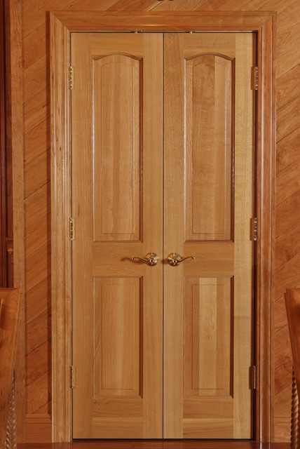 quarter sawn white oak classique double door traditional interior doors other metro by