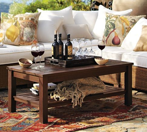 Chesapeake Coffee Table traditional-outdoor-coffee-tables