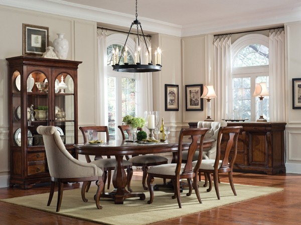 ART Furniture Margaux Oval Dining Room Set ART 166225 2630TP 2630BS ROOM