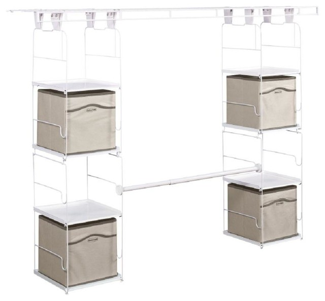 rubbermaid closet organization 24 in to 48 in expandable