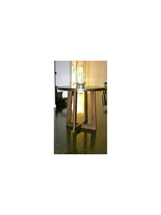 Custom Walnut Entry Table -