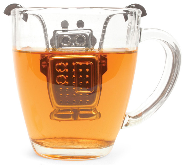 Armed With Technology Tea Infuser eclectic kitchen tools
