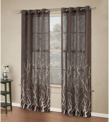 Superb Window Curtain Panel   Contemporary   Curtains   By Bed Bath U0026 Beyond