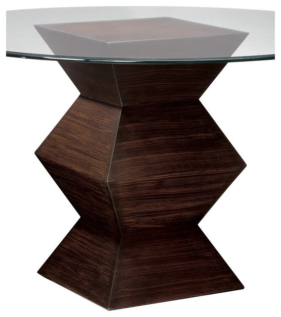 ... Table Base Zebrano - Contemporary - Dining Tables - by Beyond Stores