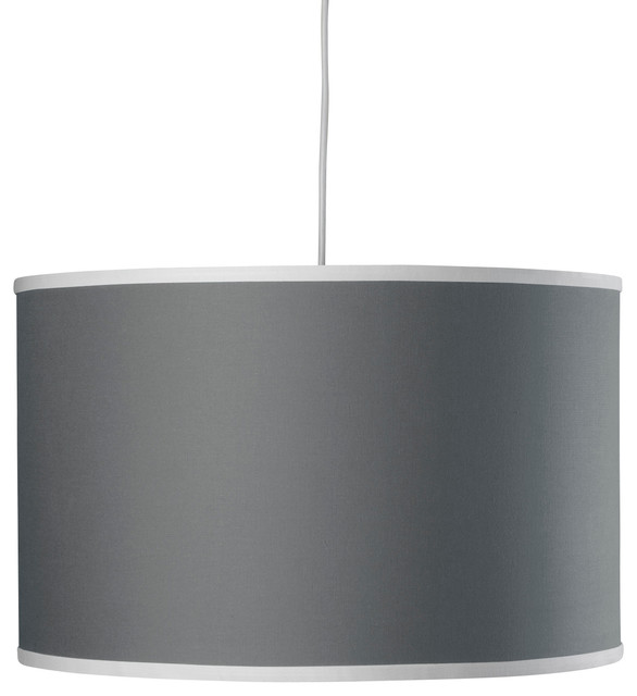 Solid Large Cylinder, Stone contemporary-pendant-lighting
