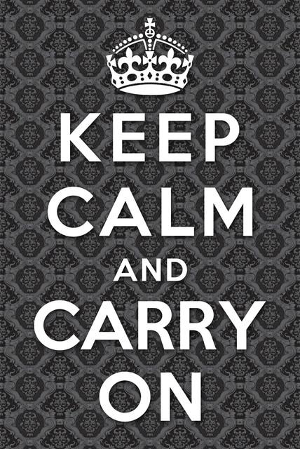 Keep Calm I modern-artwork