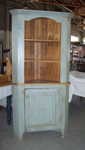Reclaimed Wood Corner Cabinet - Farmhouse - boston - by LakeandMountainHome