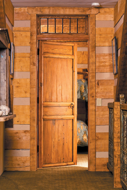 Pecos Wilderness Cabin Rustic Interior Doors