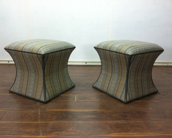 Custom Chairs and Ottomans -