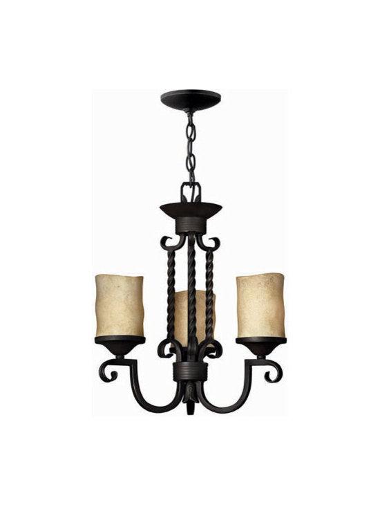 Hinkley Lighting 4013OL 3 Light Chandelier Casa Collection -