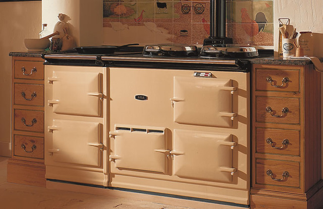 "AGA 58 5/8"" 4 Oven Cooker eclectic-gas-ranges-and-electric-ranges"