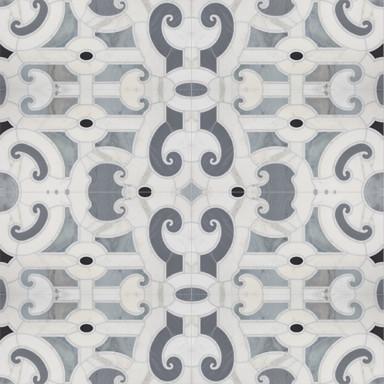 Michael S Smith Cosmati Stone Mosaic Tile - Ann Sacks Tile & Stone traditional-tile