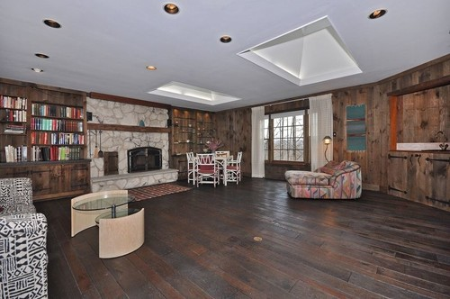 wood paneled room help