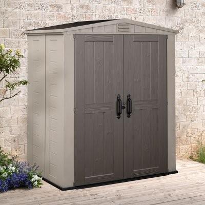 Keter Factor 6 x 3 ft. Storage Shed modern-sheds