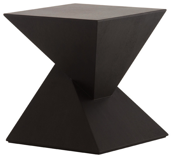 Giza Side Table, Black Oak - Modern - Side Tables And End Tables - by ...