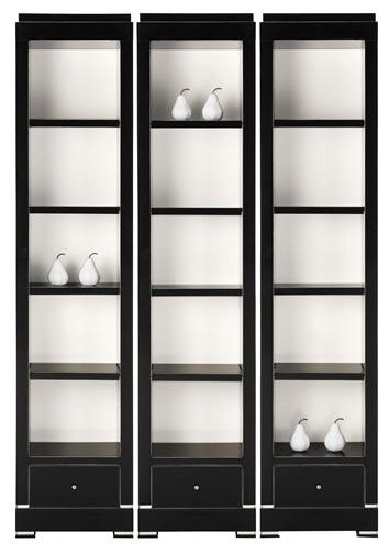 ... Delaney Veneer And Wood Solids Bookcase contemporary-bookcases