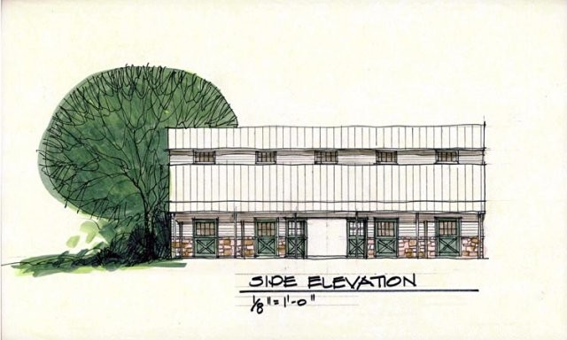 Preliminary Sketches traditional-exterior-elevation