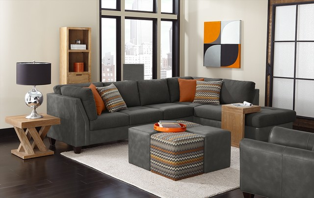 Family Room Sectional Sofas. Living Room Furniture Modern