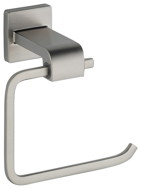 Arzo Toilet Tissue Holder in Stainless contemporary-toilet-paper-holders