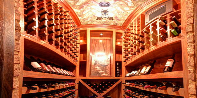 Alden - Sugarloaf Country Club mediterranean-wine-cellar