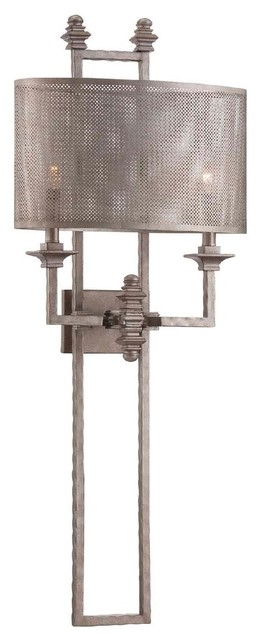 Mesh Screen Metal Sconce Wall Sconces By Shades Of Light