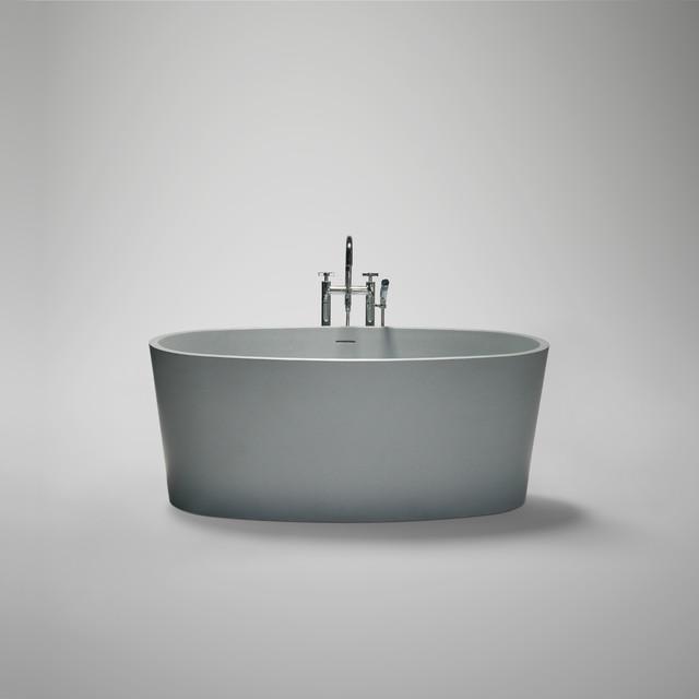 coco blu•stone™ freestanding bathtub modern-bathtubs