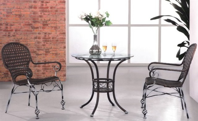 Rattan Patio Bistro Set 331-SO modern-gazebos