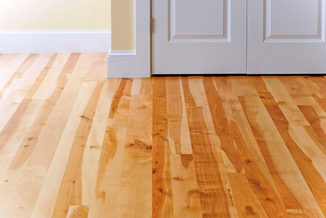 Birch wood floors traditional hardwood flooring for Traditional flooring