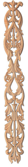 Pembroke Small Wood Carving - Alder traditional-onlays-and-appliques