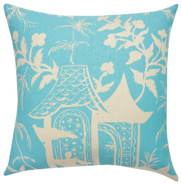 Aqua Paradise Pillow decorative-pillows
