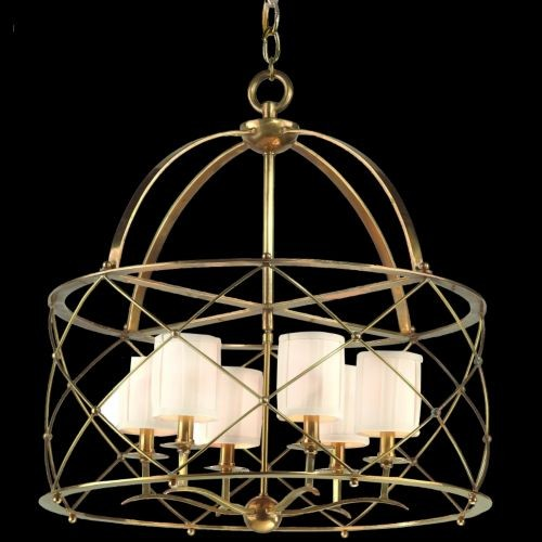 Argyle Chandelier by Corbett Lighting contemporary-chandeliers