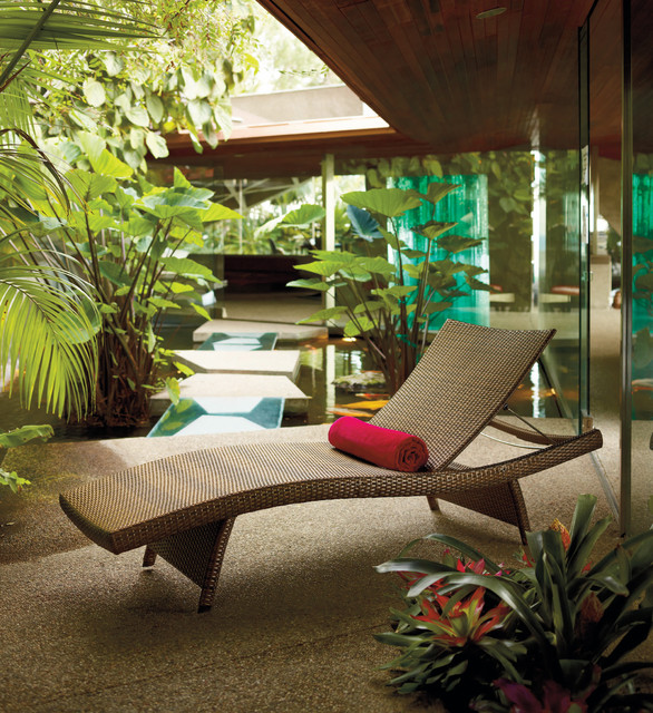 Balancia Chaise Lounge contemporary outdoor chaise lounges