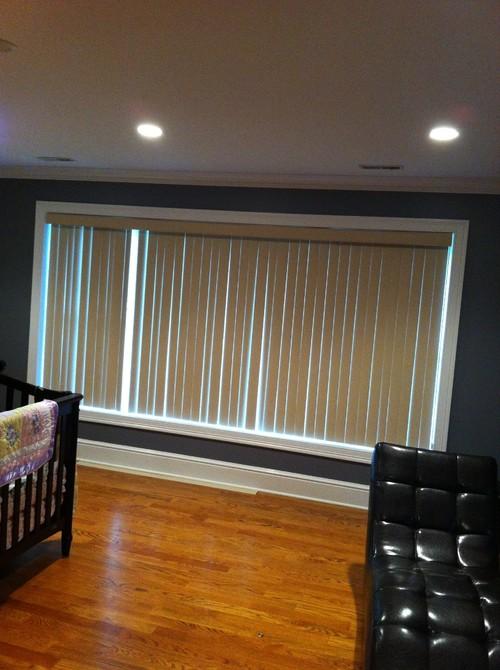 bedroom curtain rod ideas