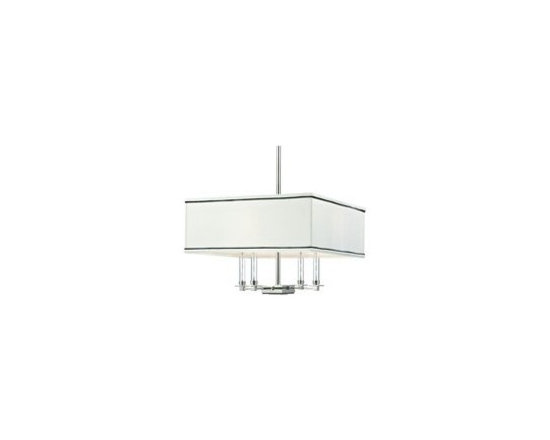 Hudson Valley Lighting Collins Transitional Chandelier - HV-2919-PN - Hudson Valley Lighting Collins Transitional Chandelier - HV-2919-PN