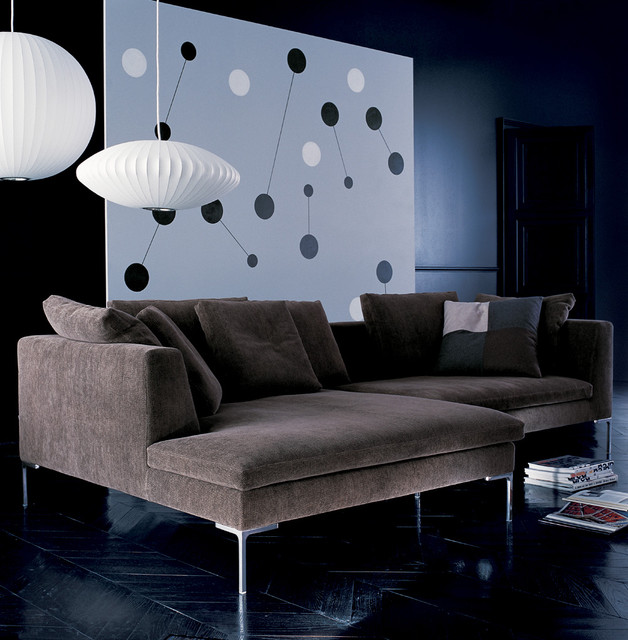 cassina modern sectional sofas orange county