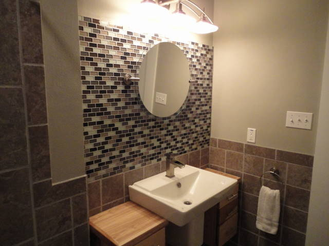Small bathroom remodel for Modern bathroom design small