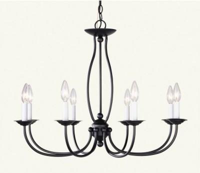 Livex Home Basics 4158 Chandelier - 28W in. modern-chandeliers