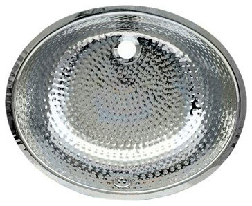 Whitehaus Wh920abm Polished Stainless Steel Oval