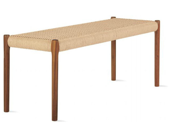 Moller - Møller Model 63A Bench - An iconic, streamlined bench would be perfect perched at the foot of the bed.