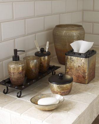 Mission vanity tray traditional bathroom accessories by horchow - Bathroom accessories vanity tray ...