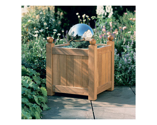 "Barlow Tyrie - Barlow Tyrie Caisse 18"" Versailles Planter - Small, Barlow Tyrie Caisse 24"" Versailles Planter - Large - Barlow Tyrie manufacturers an extensive range of outdoor furniture crafted from teak, all-weather wicker, stainless steel and aluminium. Their traditional and contemporary designs include deep seating chairs, dining chairs, tables, steamers, benches and swing seats."