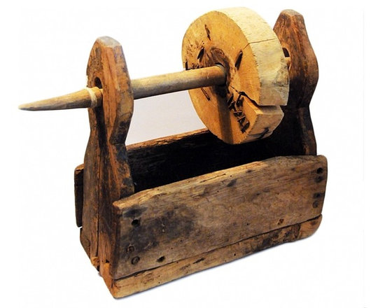 Thread Winder - One of a kind primitive thread winder. A wonderful accessory for a home in the country.