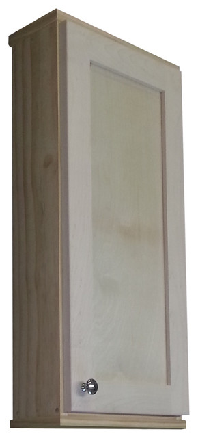 Shaker Series Unfinished Wall Cabinet Contemporary