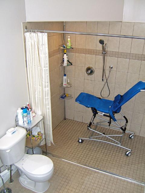 Barrier Free Bathrooms contemporary-bathroom